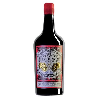 Vermouth Silvio Carta Di Sardegna Rosso cl75