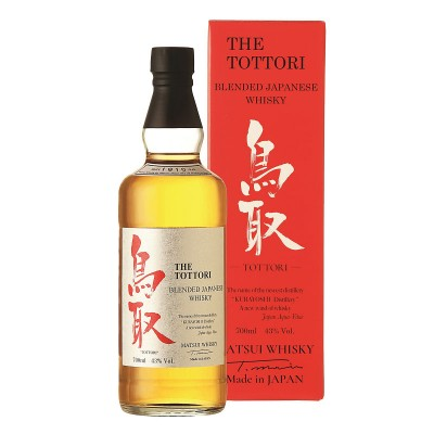 Whisky The Tottori Blended Japanese cl70 Astucciato