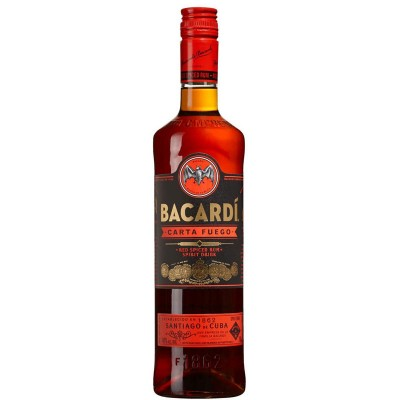 Rum Bacardi Carta Fuego 1Litro