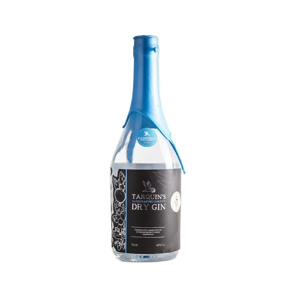 Gin Tarquin's Handcrafted Cornish Dry Gin cl70