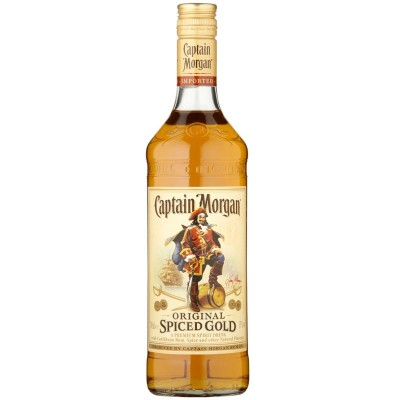 Rum Captain Morgan Spiced Gold 1Litro