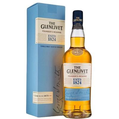 Whisky The Glenlivet Founder's Reserve 1Litro Astucciato