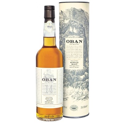 Whisky Oban 14y Single Malt Scotch cl70 Astucciato