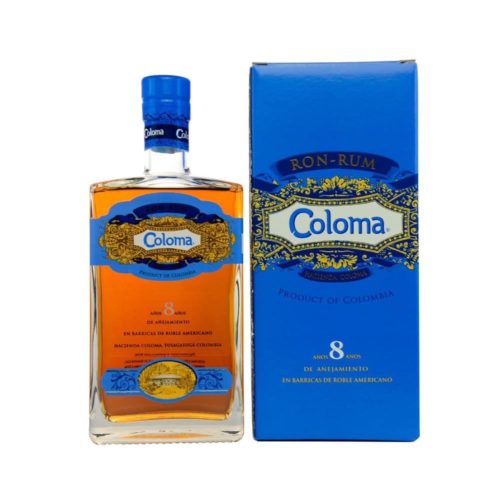 Rum Coloma 8y cl70 Astucciato