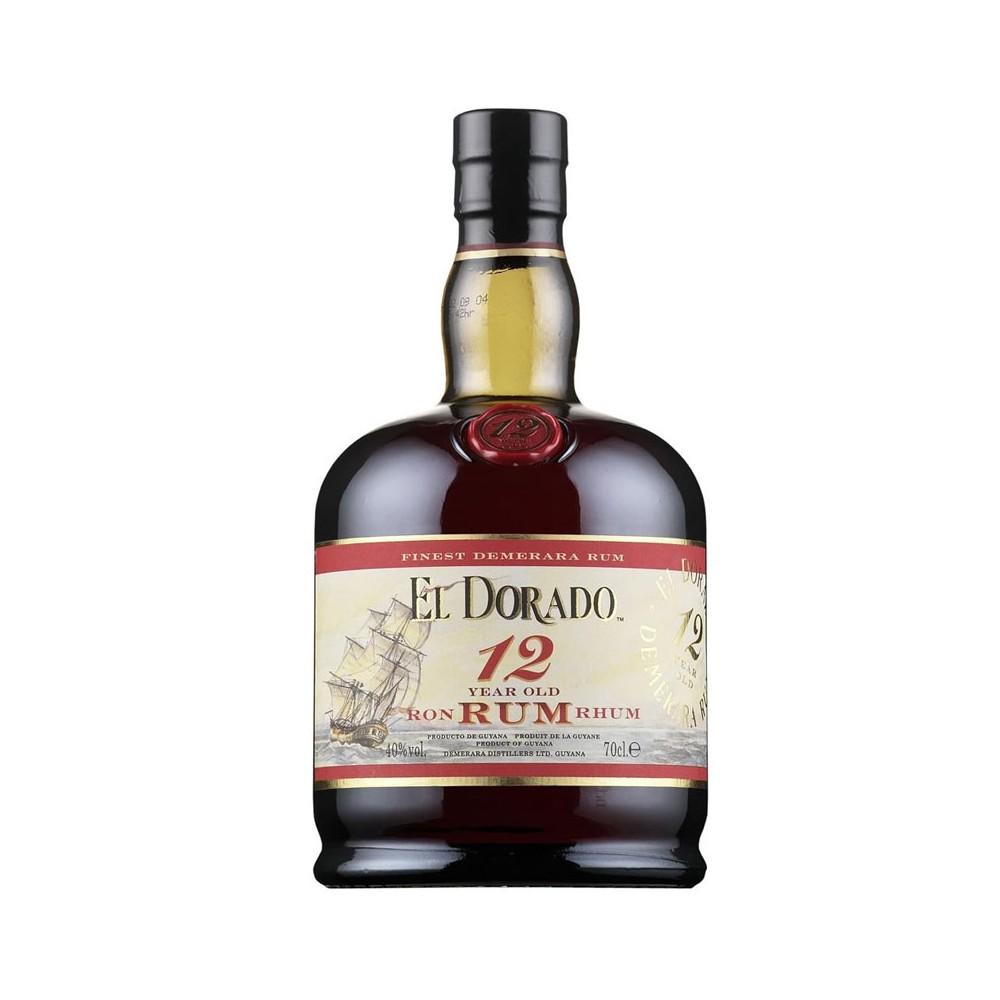Rum El Dorado 12y cl70