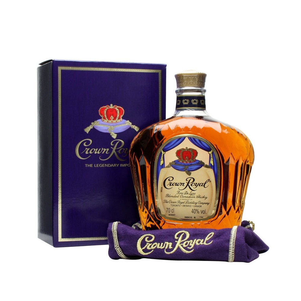 Whisky Crown Royal cl70 Astucciato