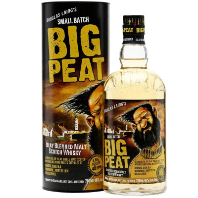 Whisky Big Peat Islay Blended Malt Scotch cl70 Astucciato