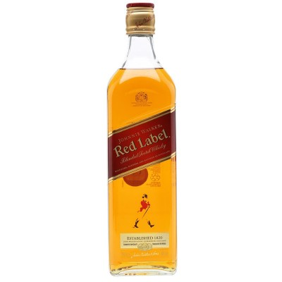 Whisky Johnnie Walker Red Label Old Scotch 1Litro