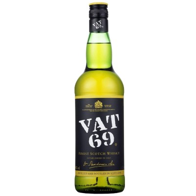 Whisky Vat 69 Finest Scotch Whisky cl70