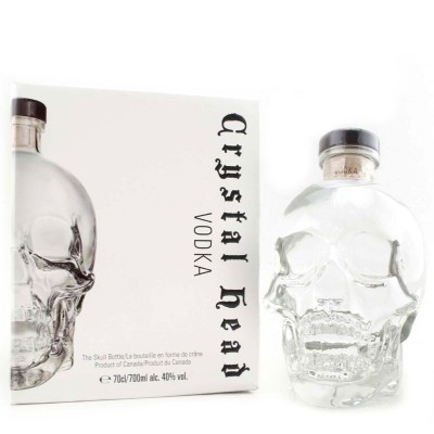 Vodka Crystal Head cl70 Astucciata