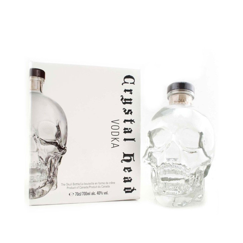 Vodka Crystal Head cl70 Astucciata