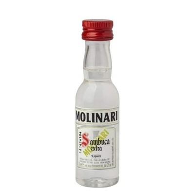 Sambuca Molinari cl3 Confezione da 50 Mignon
