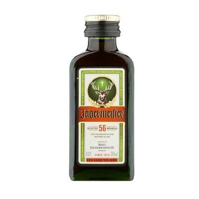 Amaro Jagermeister cl4 Confezione da 60 Mignon