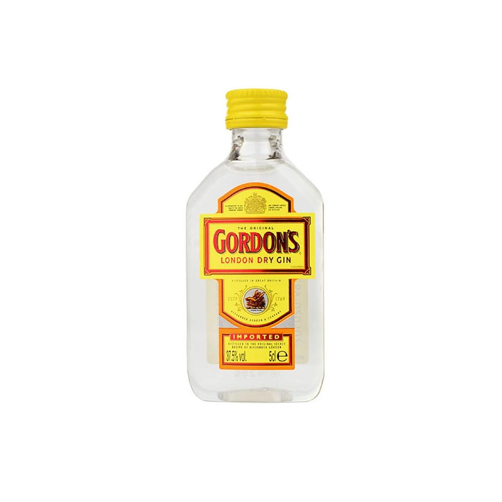Gin Gordon's London Dry Gin cl5 Confezione da 12 Mignon