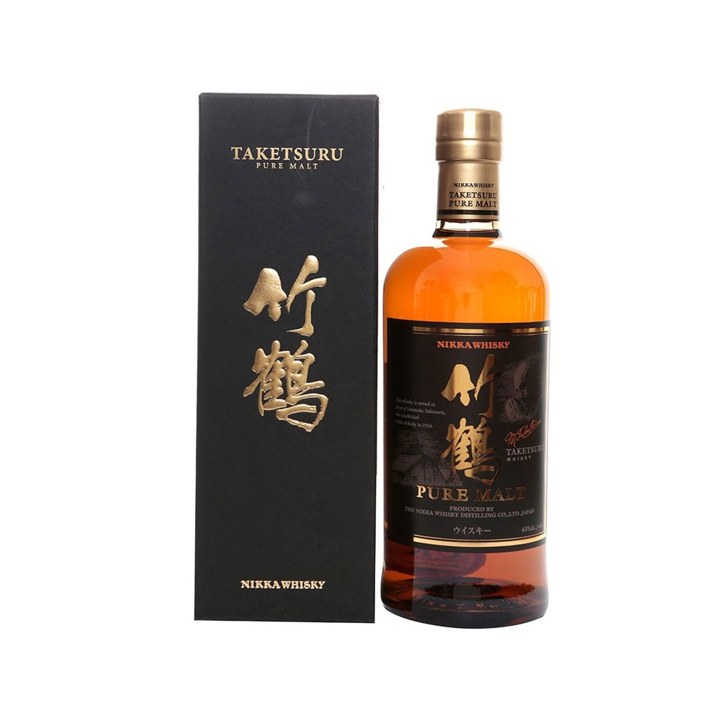 Whisky Taketsuru Pure Malt Nikka Whisky cl70 Astucciato