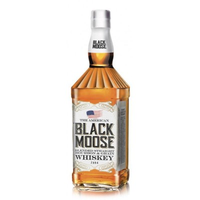 Whisky Black Moose Bourbon Whisky 1Litro
