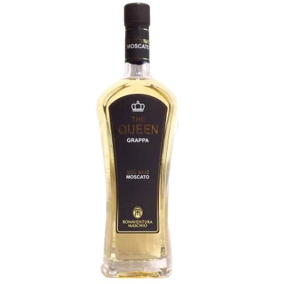 Grappa Moscato The Queen Maschio Bonaventura cl70