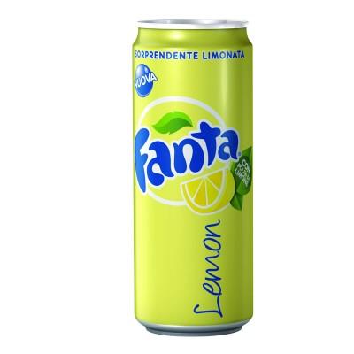 Fanta Lemon Lattina cl33
