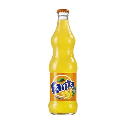 Fanta Orange Vetro cl33