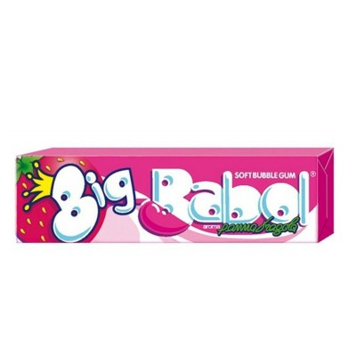 Big Babol Soft Bubble Gum...