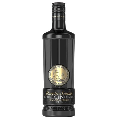 Puerto De Indias Sevillian Gin Black Edition cl70