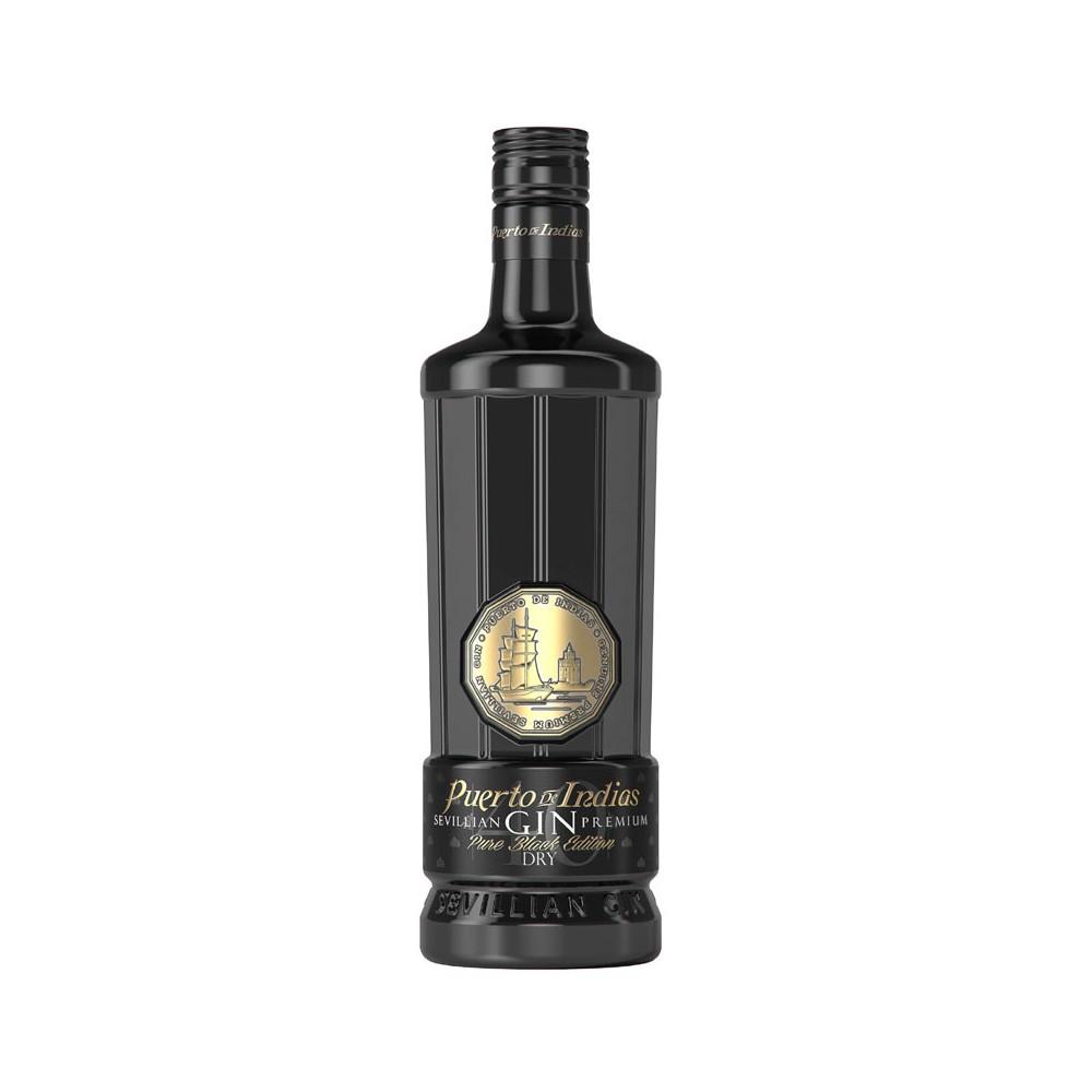 Puerto De Indias Sevillian Gin Black Edition cl70